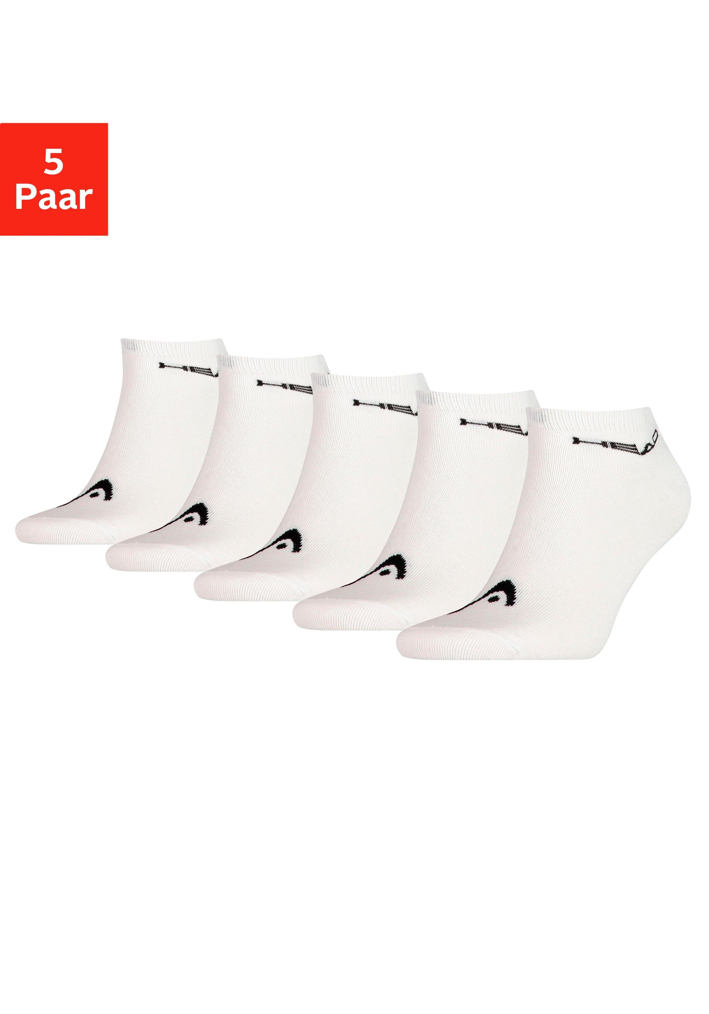 Head sneakersokken met logo-opschrift bij de boord (5 paar) veilig op lascana.nl kopen