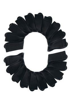 set van 20 paar sokken zwart