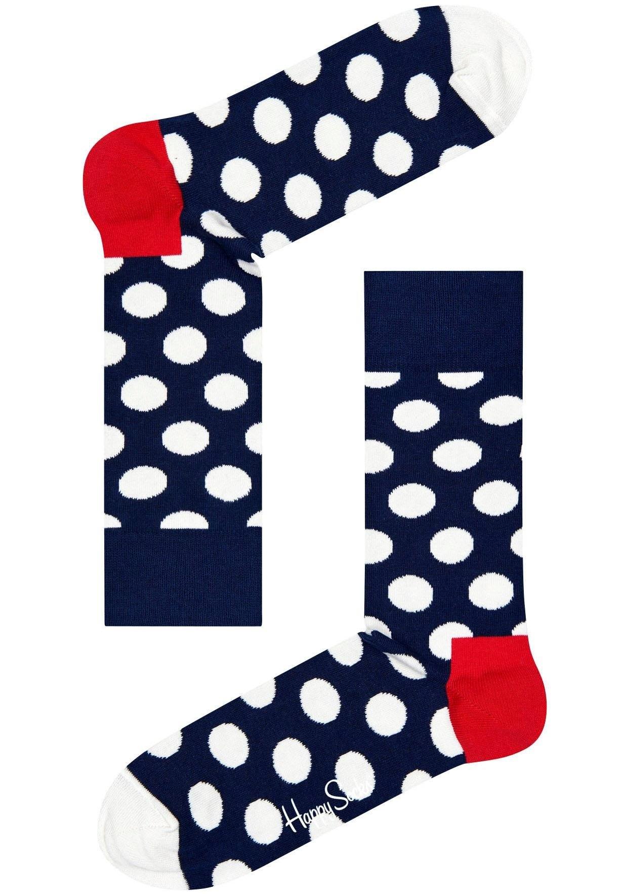 Op zoek naar een Happy Socks sokken »Big Dot« met stippenmotief? Koop online bij Lascana