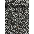 s.oliver beachwear zomerjurk zwart