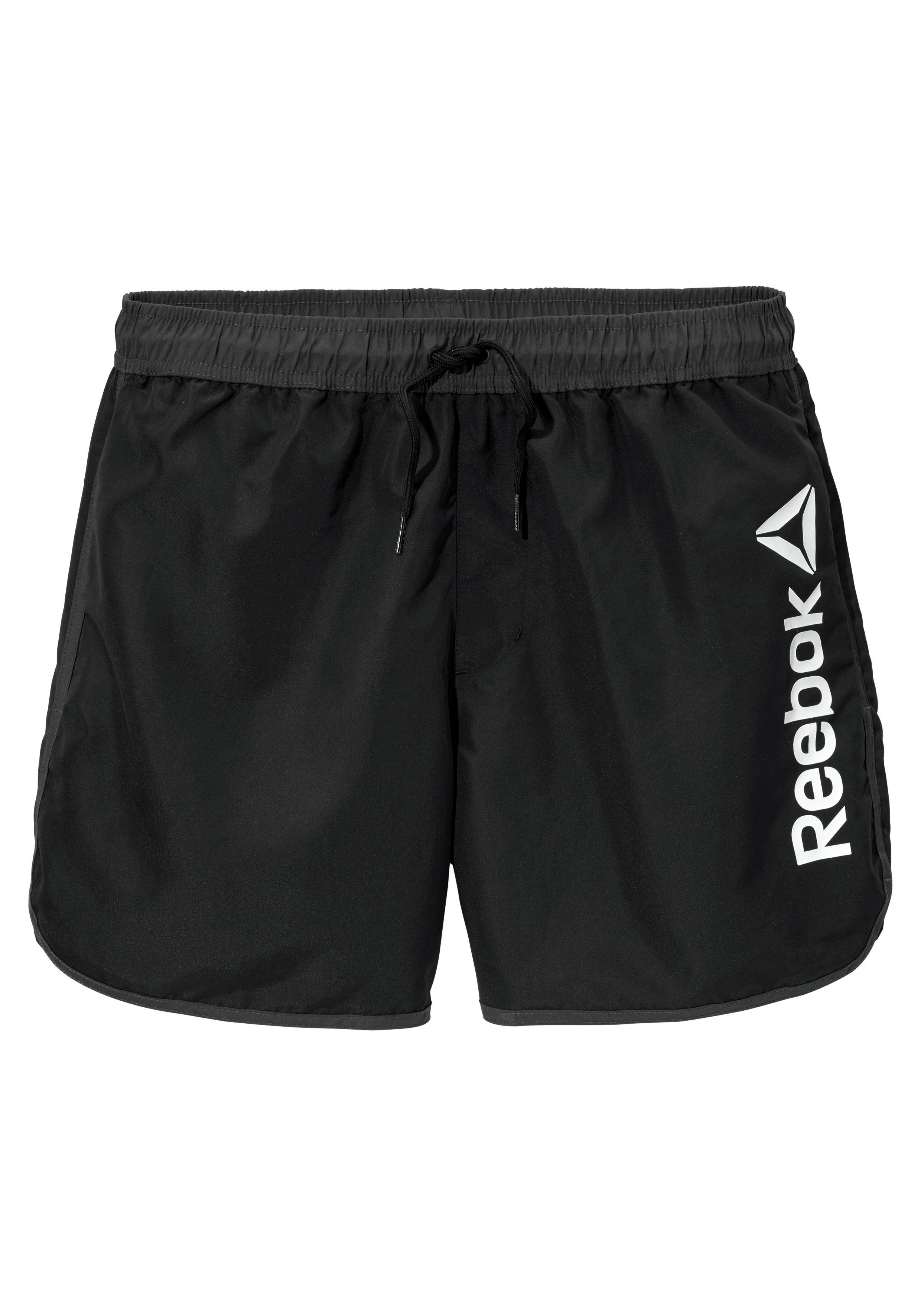 Reebok Zwemshort met logo-opschrift opzij nu online bestellen