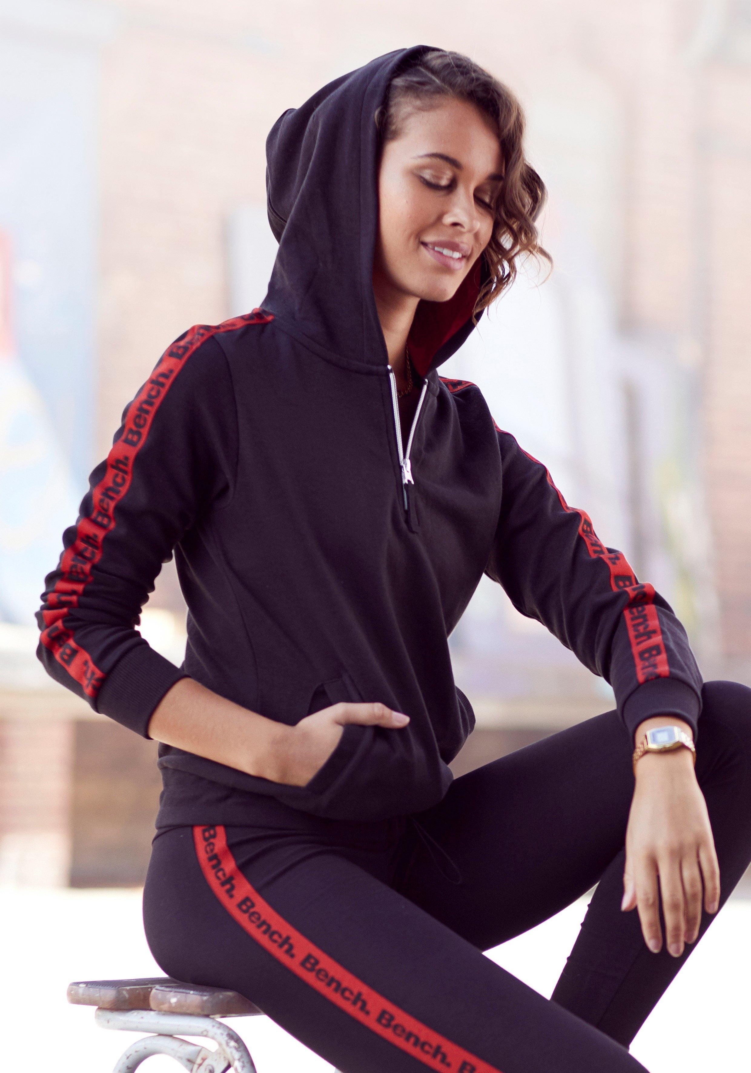 Bench. hoodie met ritssluiting en verstelbare zoom bij Lascana online kopen