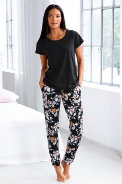 s.oliver red label bodywear pyjama zwart