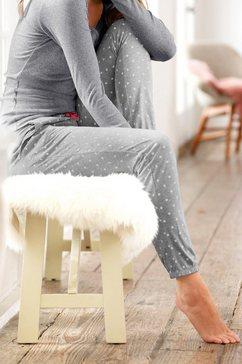 s.oliver red label bodywear lange broek grijs