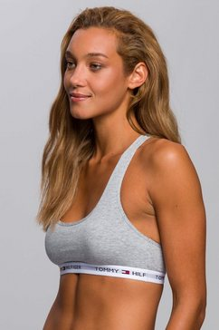 tommy hilfiger bustier »iconic« grijs