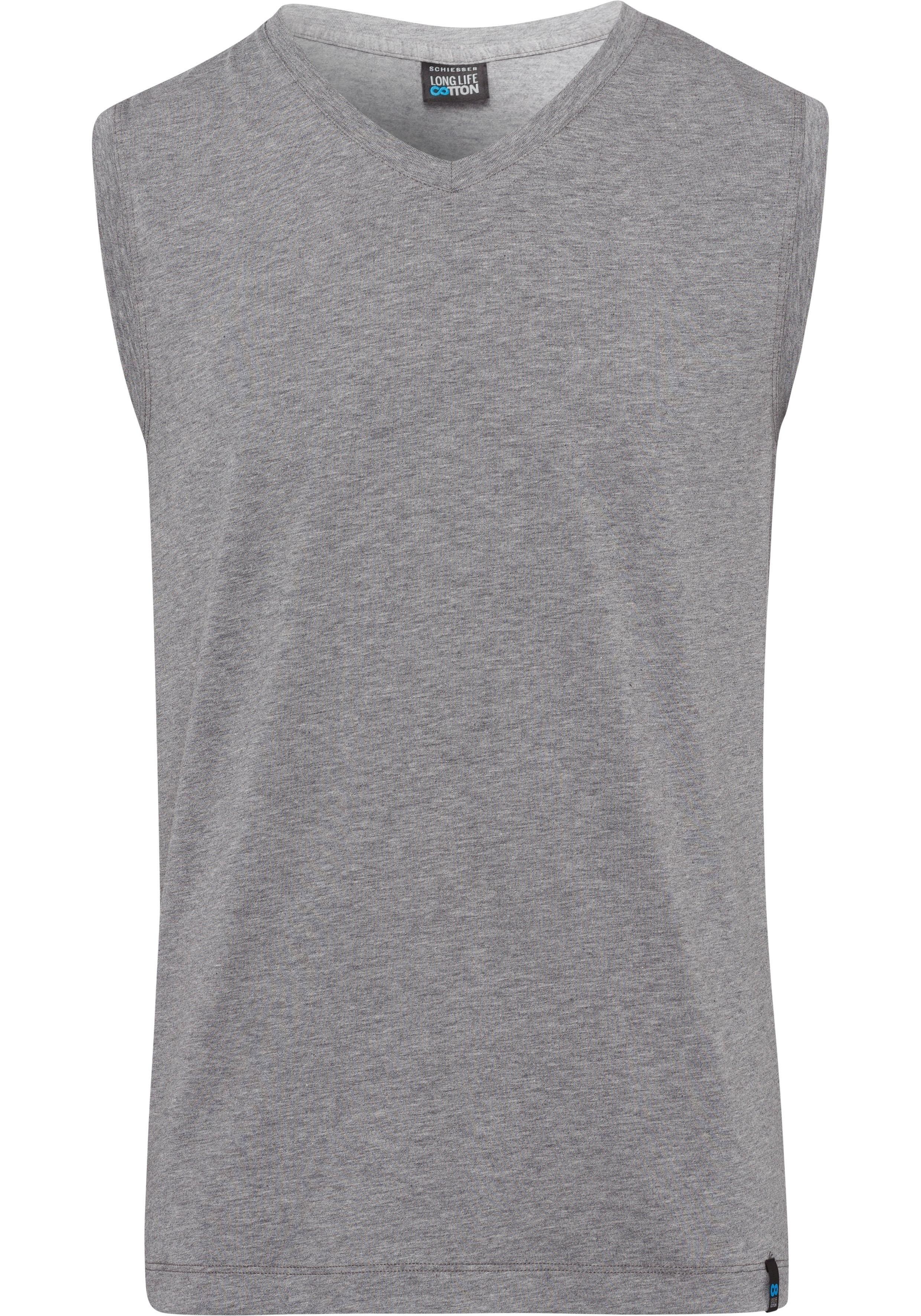 Schiesser muscle-shirt »Long Life Cotton« nu online kopen bij Lascana