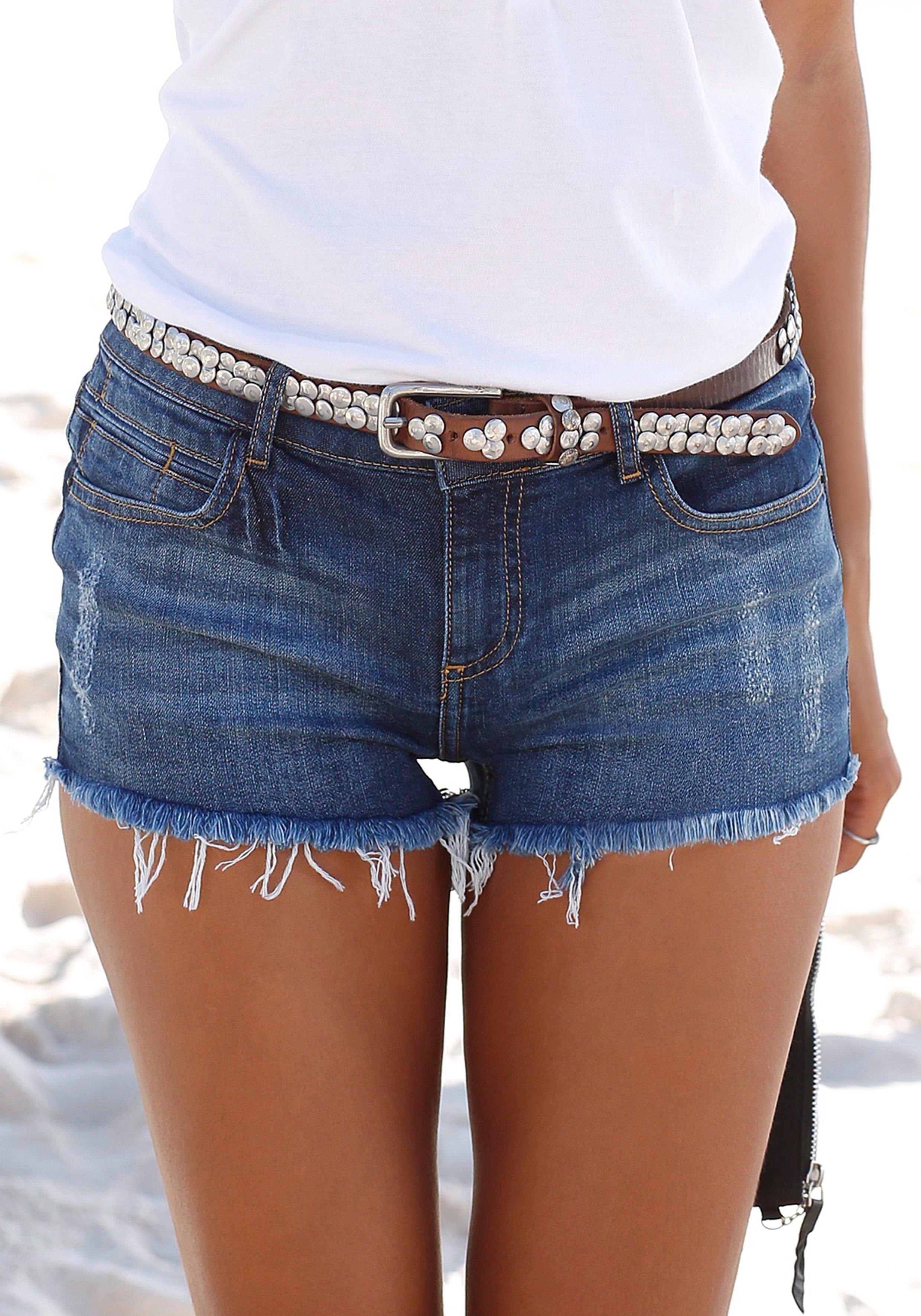 Buffalo Londen jeans-hotpants in de webshop van Lascana kopen