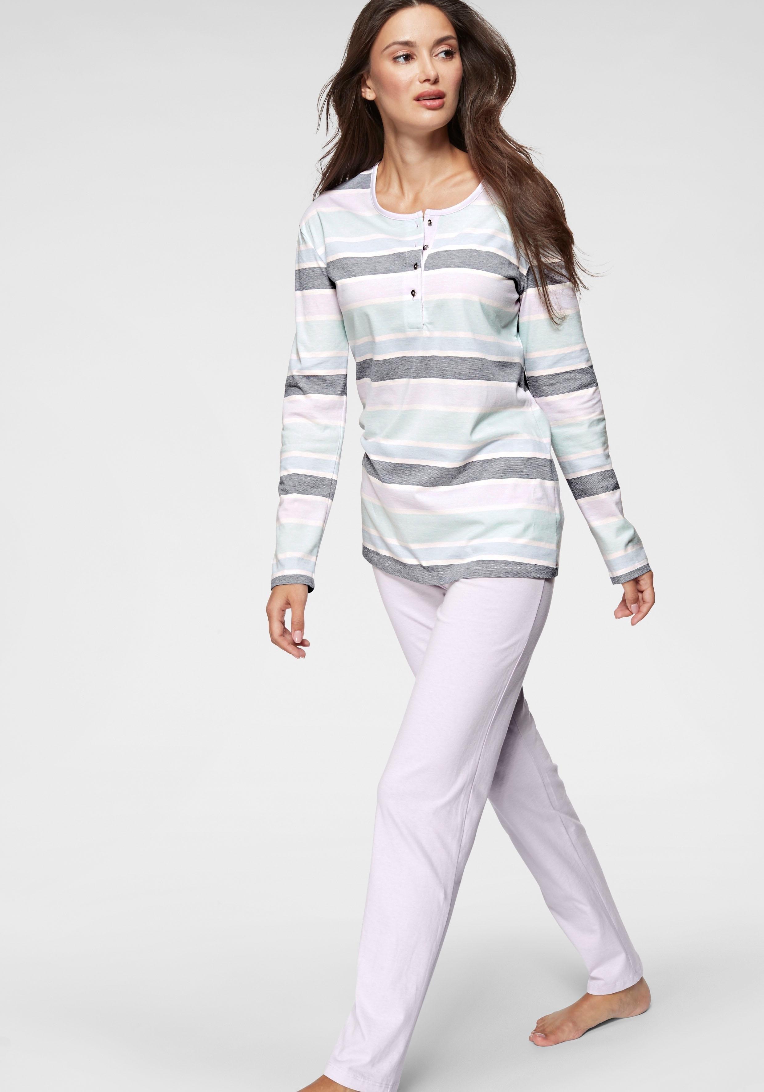 Schiesser pyjama online kopen op lascana.nl