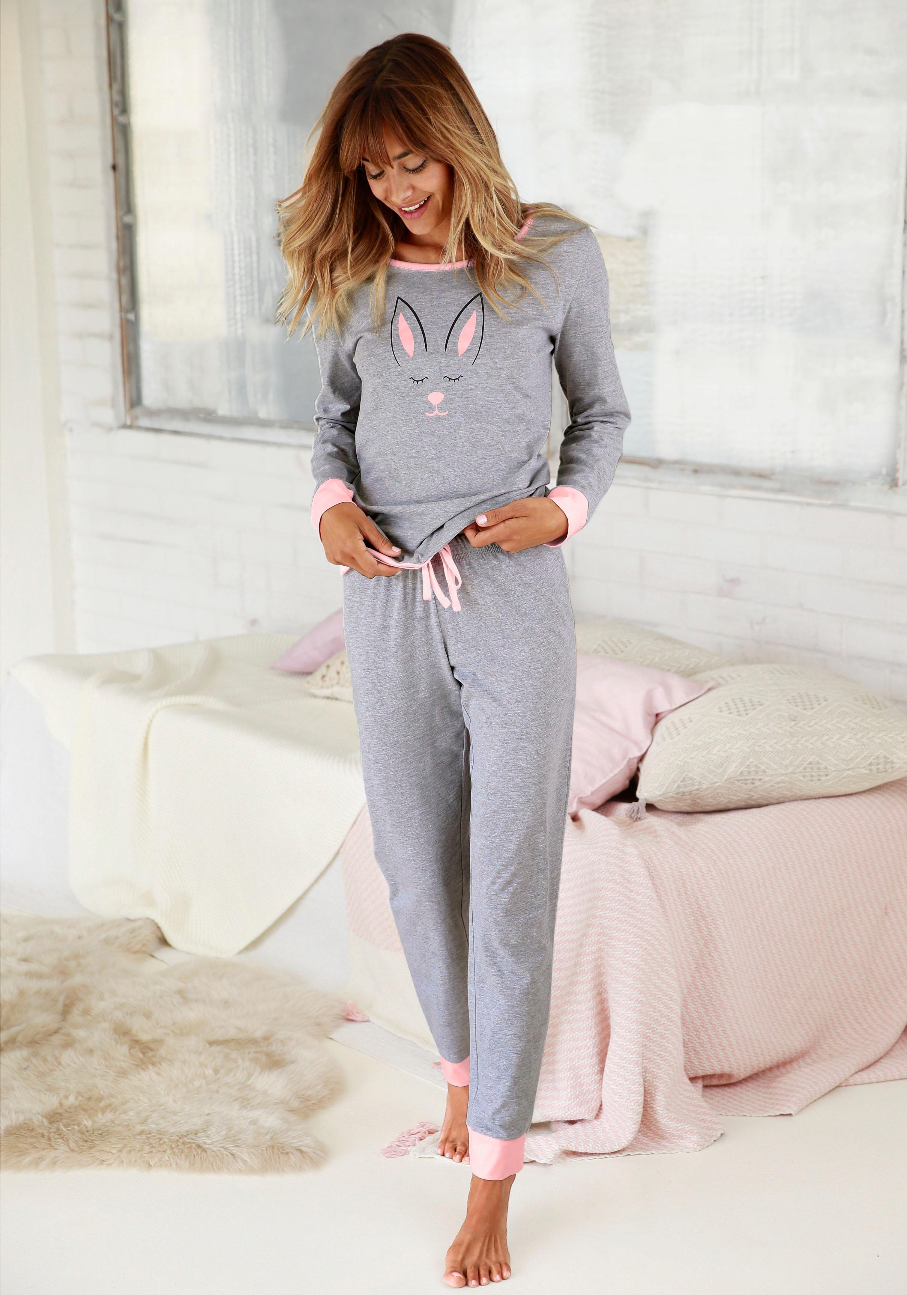 Vivance Collection Vivance Dreams pyjama in de webshop van Lascana kopen