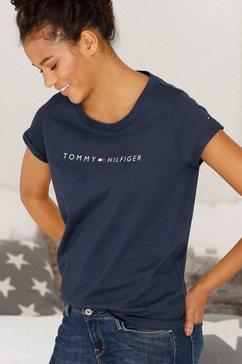 tommy hilfiger t-shirt »modern cotton« blauw