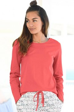 vivance dreams shirt met lange mouwen oranje