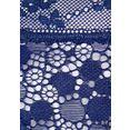 s.oliver red label beachwear tangaslip van kant in bloemetjes-look blauw