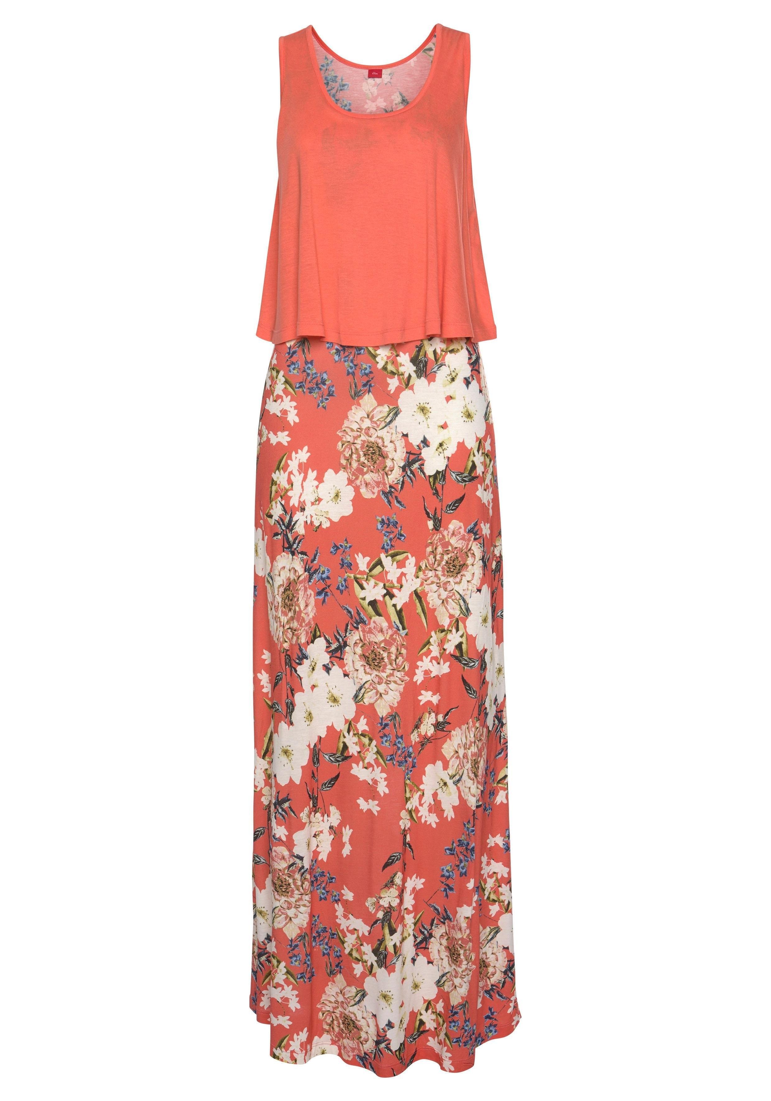 s.Oliver RED LABEL Beachwear maxi-jurk bij Lascana online kopen