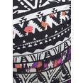 lascana bikinitop met beugels belize in etno-design zwart