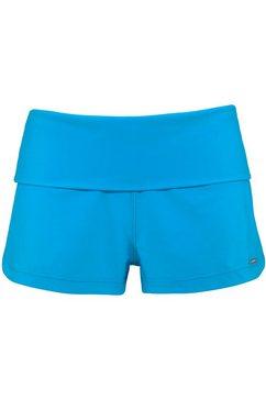 chiemsee zwemshort in neonkleuren blauw