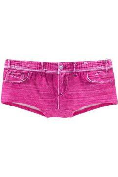 kangaroos hotpants in jeans-look roze