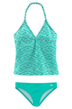 venice beach tankini in gemêleerde look groen