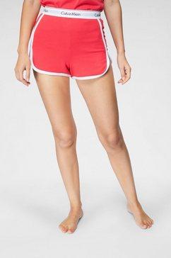 calvin klein pyjamashort rood