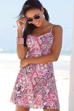 lascana scuba-jurk roze