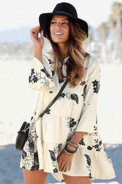 lascana blousejurkje beige