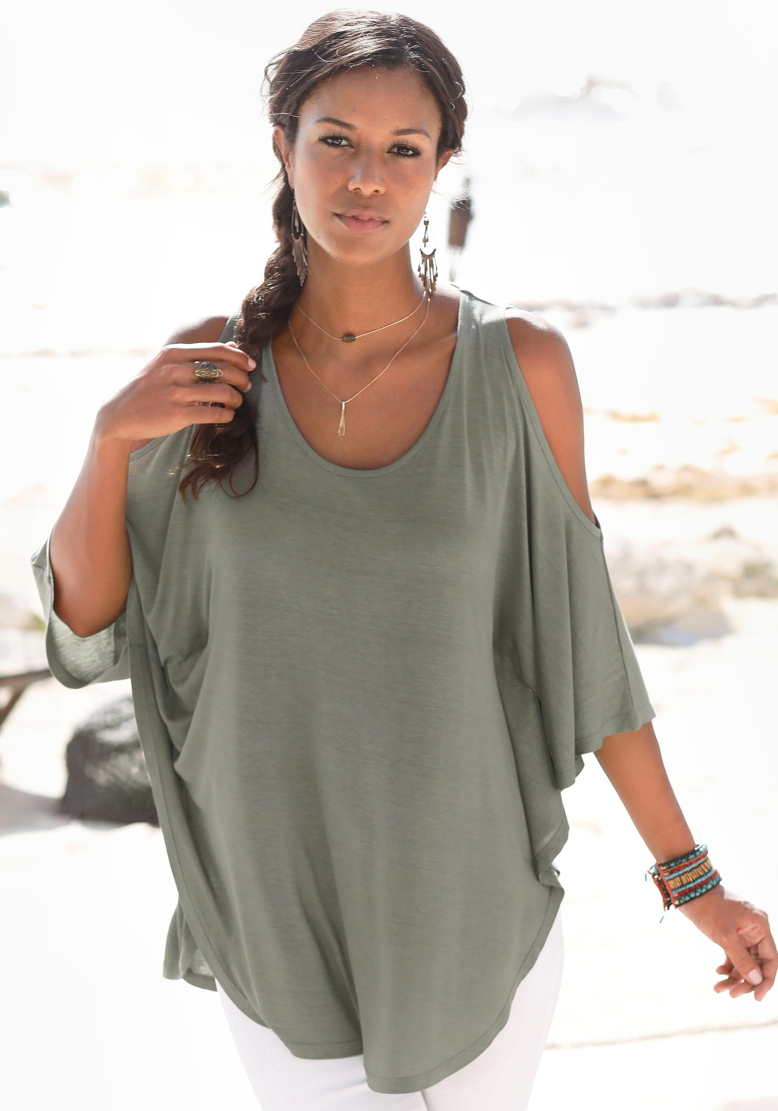 LASCANA strandshirt in de webshop van Lascana kopen