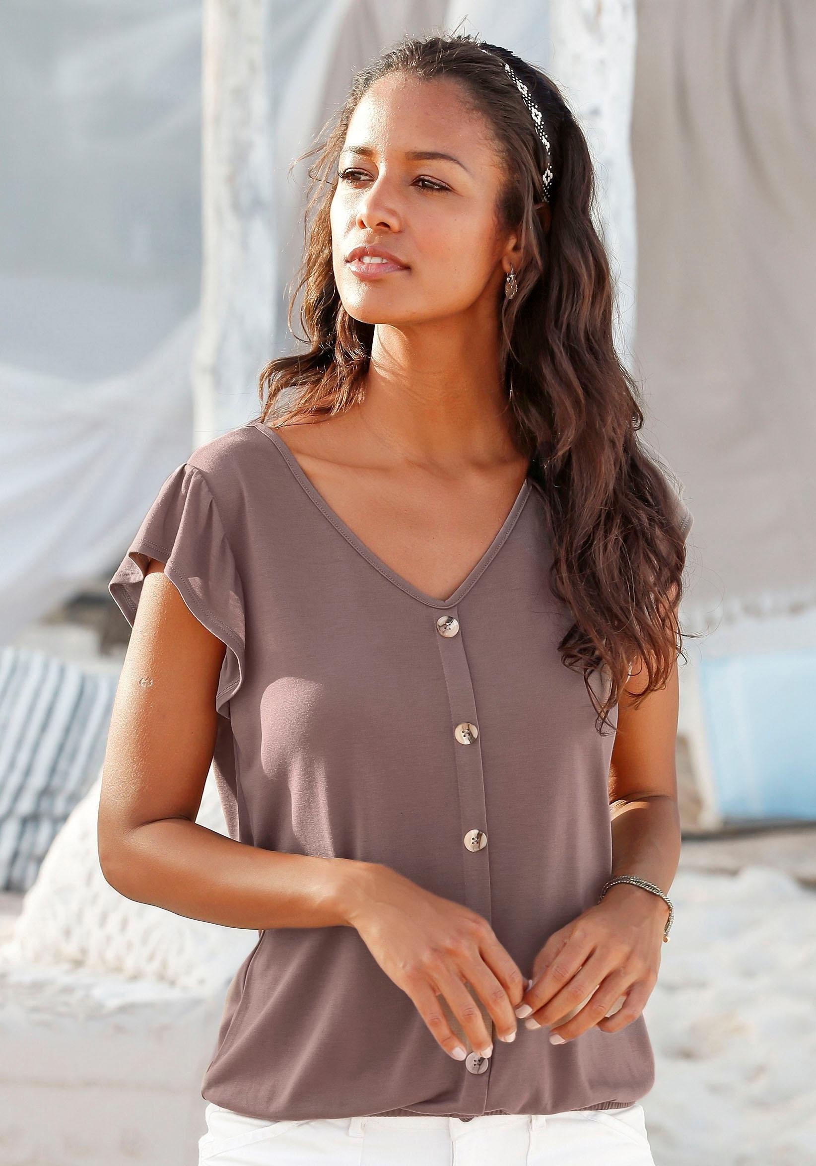 LASCANA shirt (set van 2) goedkoop op lascana.nl kopen