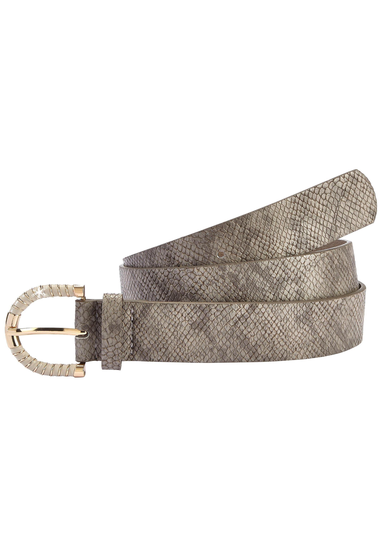 Lascana heupgordeltje met snake-print en modieuze siergesp voordelig en veilig online kopen