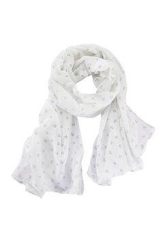 lascana sjaal met ankers wit