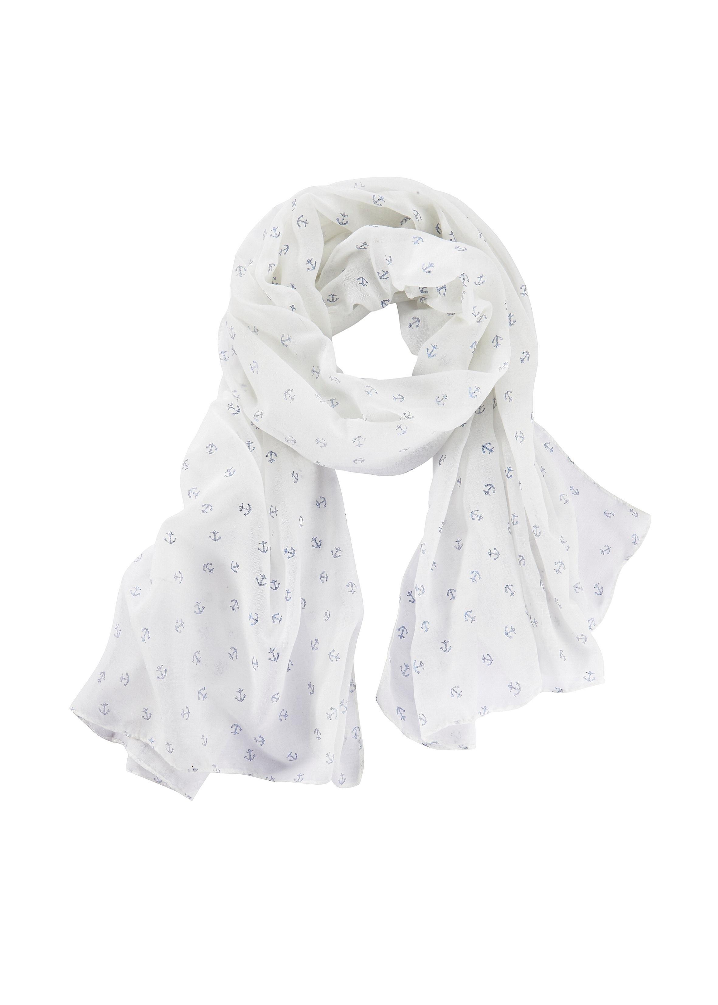LASCANA sjaal met ankers nu online bestellen