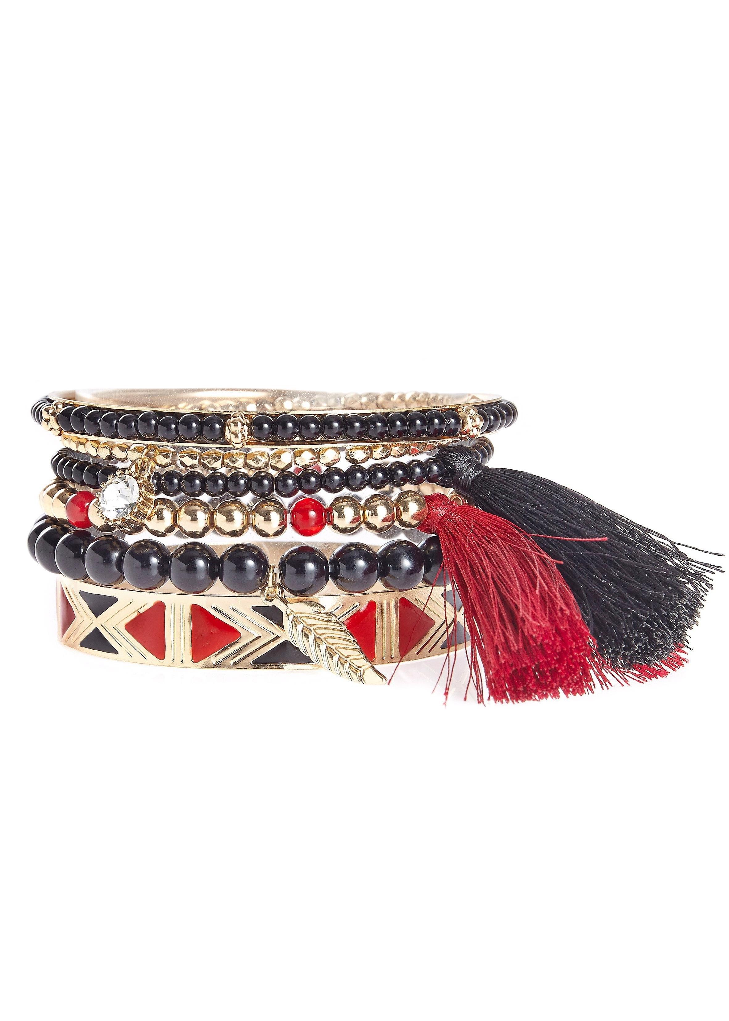 LASCANA armbandenset (6-delig) in de webshop van Lascana kopen