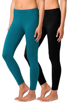 basic legging in set van 2, vivance groen