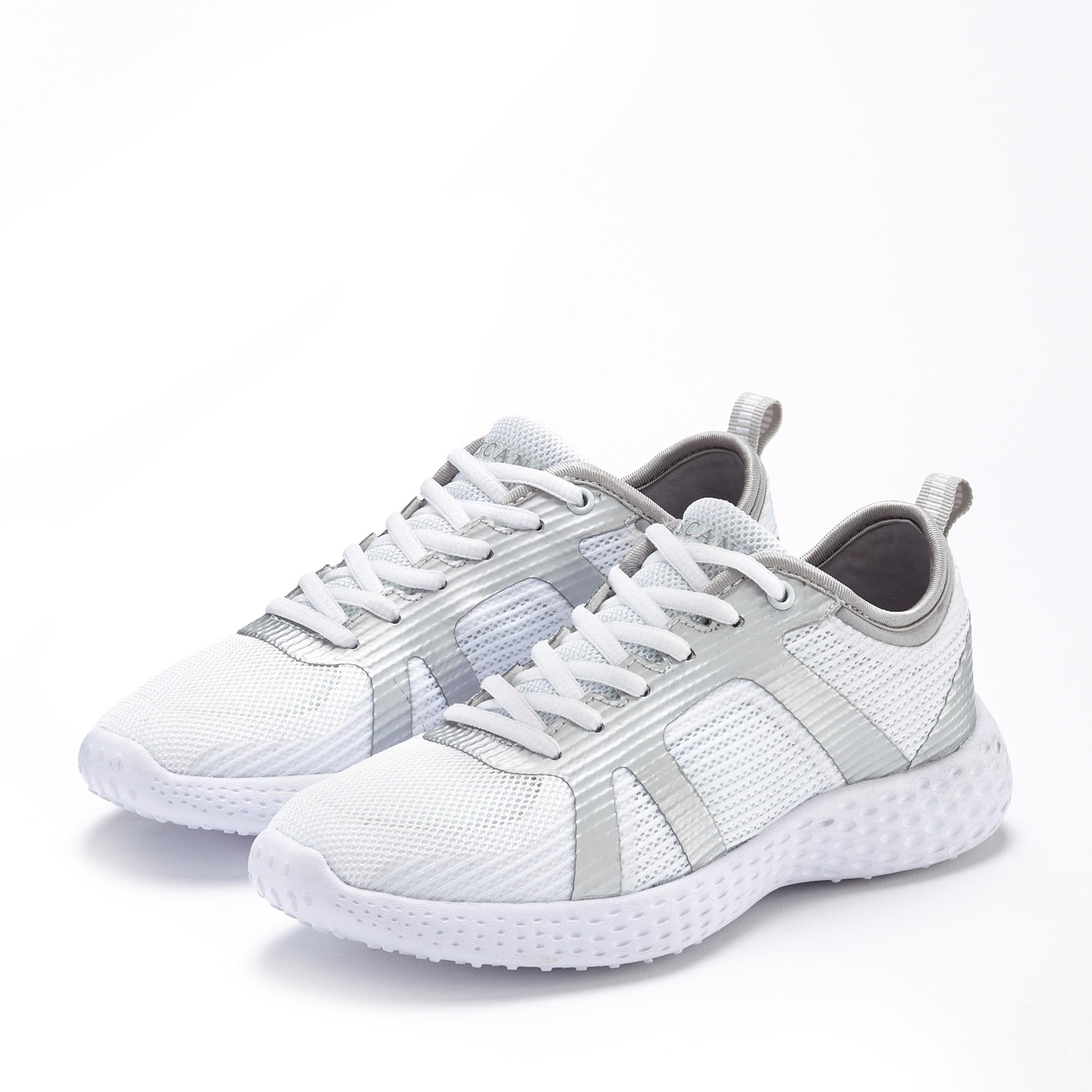 Lascana sneakers ultralicht met metallic-inzetten nu online kopen bij Lascana
