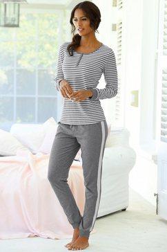 s.oliver bodywear pyjama grijs