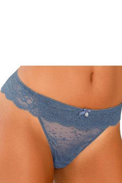 s.oliver red label bodywear string blauw