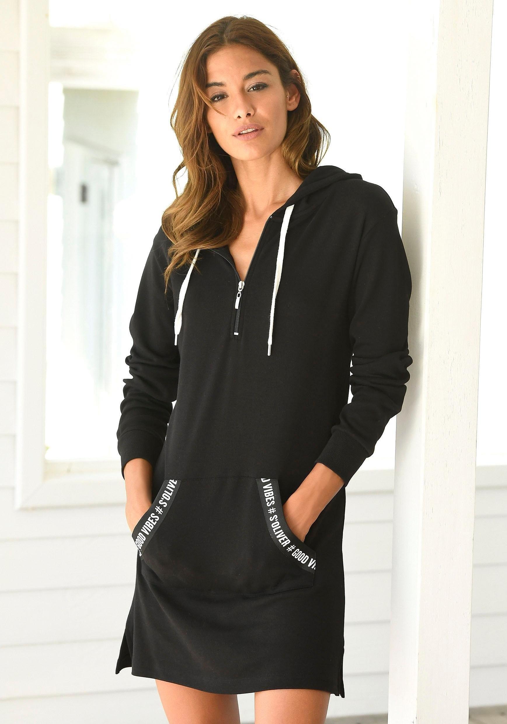 S.oliver Bodywear s.Oliver RED LABEL Bodywear sweatjurk bij Lascana online kopen