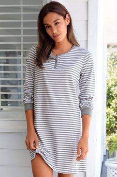 s.oliver bodywear-nachthemd wit