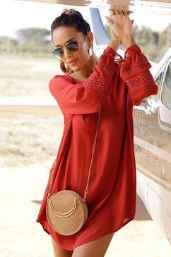 lascana blousejurkje rood