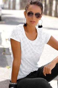 lascana strandshirt wit