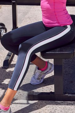 active by lascana legging blauw