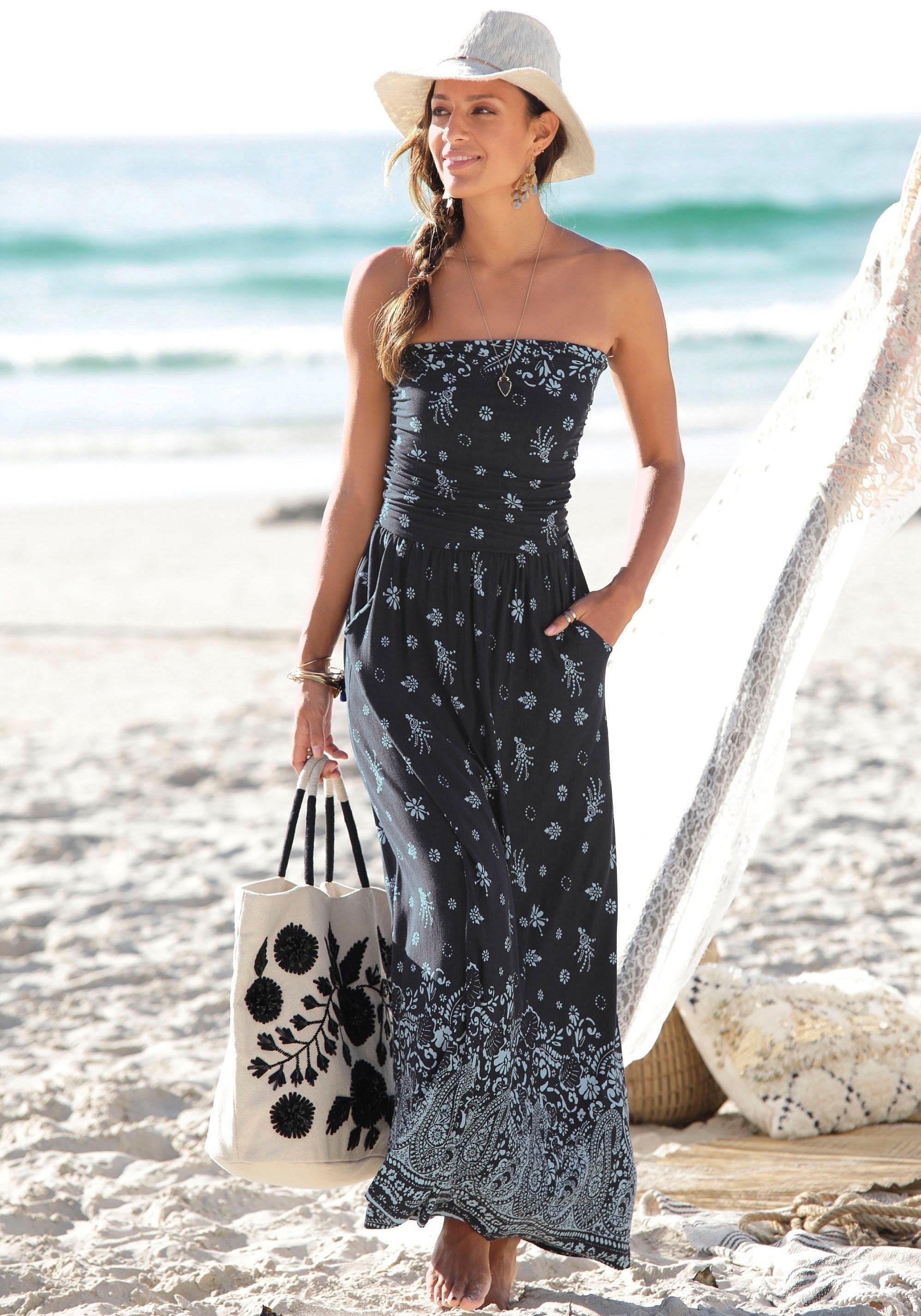 s.Oliver Beachwear maxi-jurk veilig op lascana.nl kopen