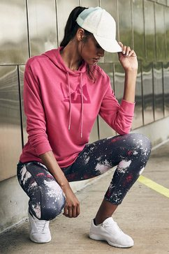 active by lascana hoodie »galaxy« rood