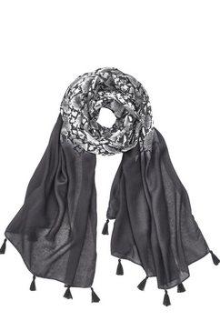 lascana sjaal zwart