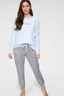 schiesser pyjama (2-dlg.) blauw
