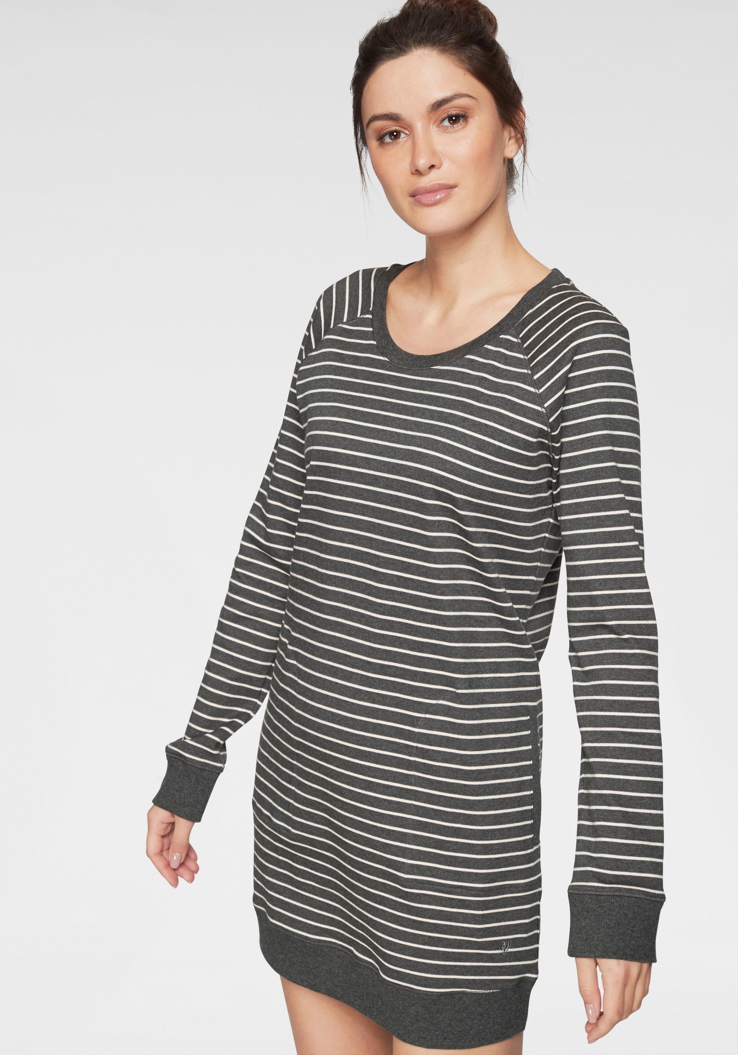 Marc O'Polo Nachthemd met streepdessin met steekzakken bij Lascana online kopen