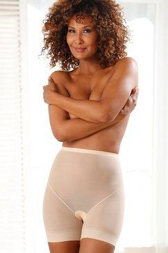 magic body fashion shapingbroek lite short van ultralicht materiaal beige