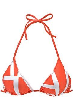 calvin klein bikinitop in triangelmodel oranje