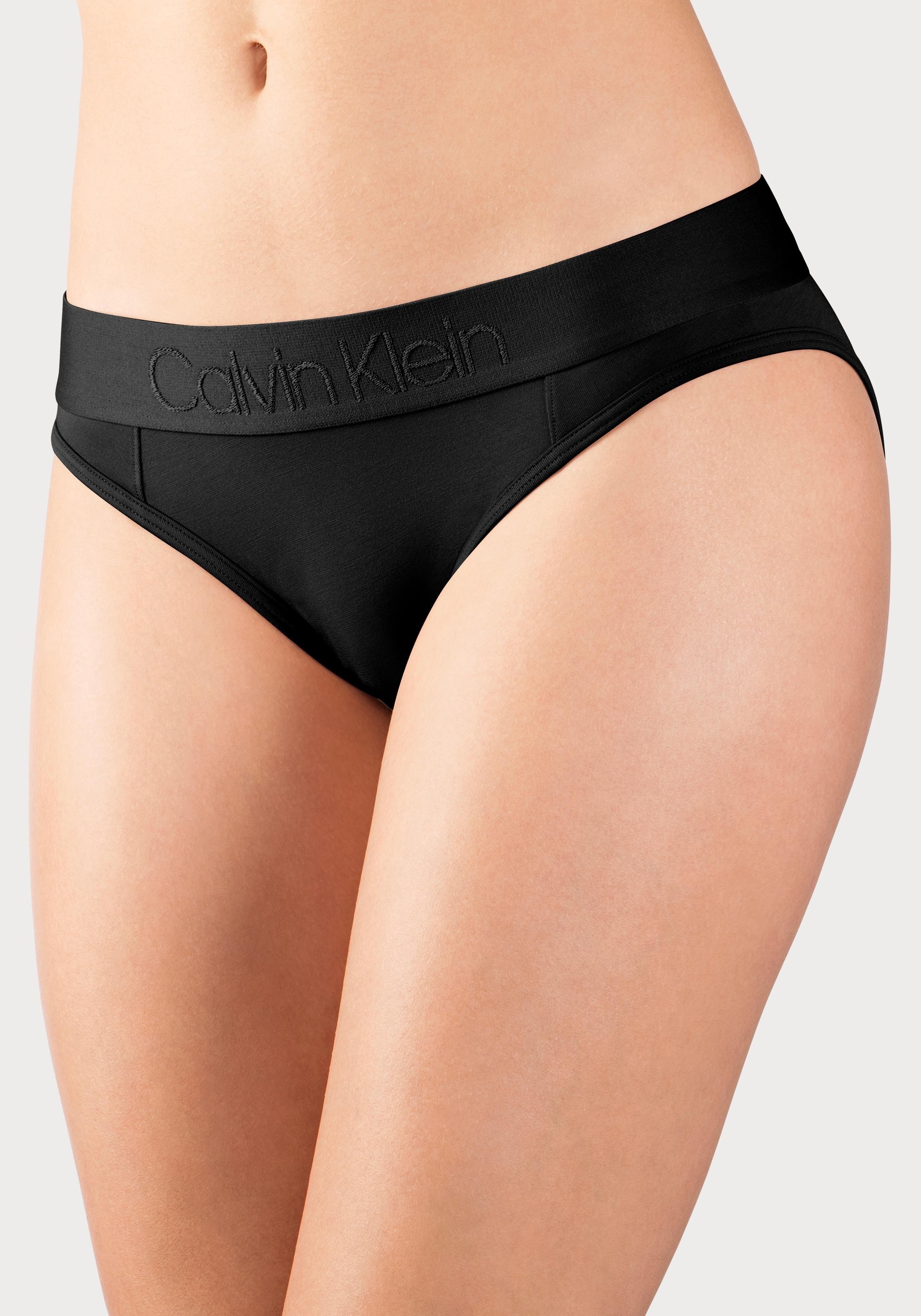 Calvin Klein Bikinibroekje TONAL LOGO met in kleur bijpassende logoband nu online kopen bij Lascana