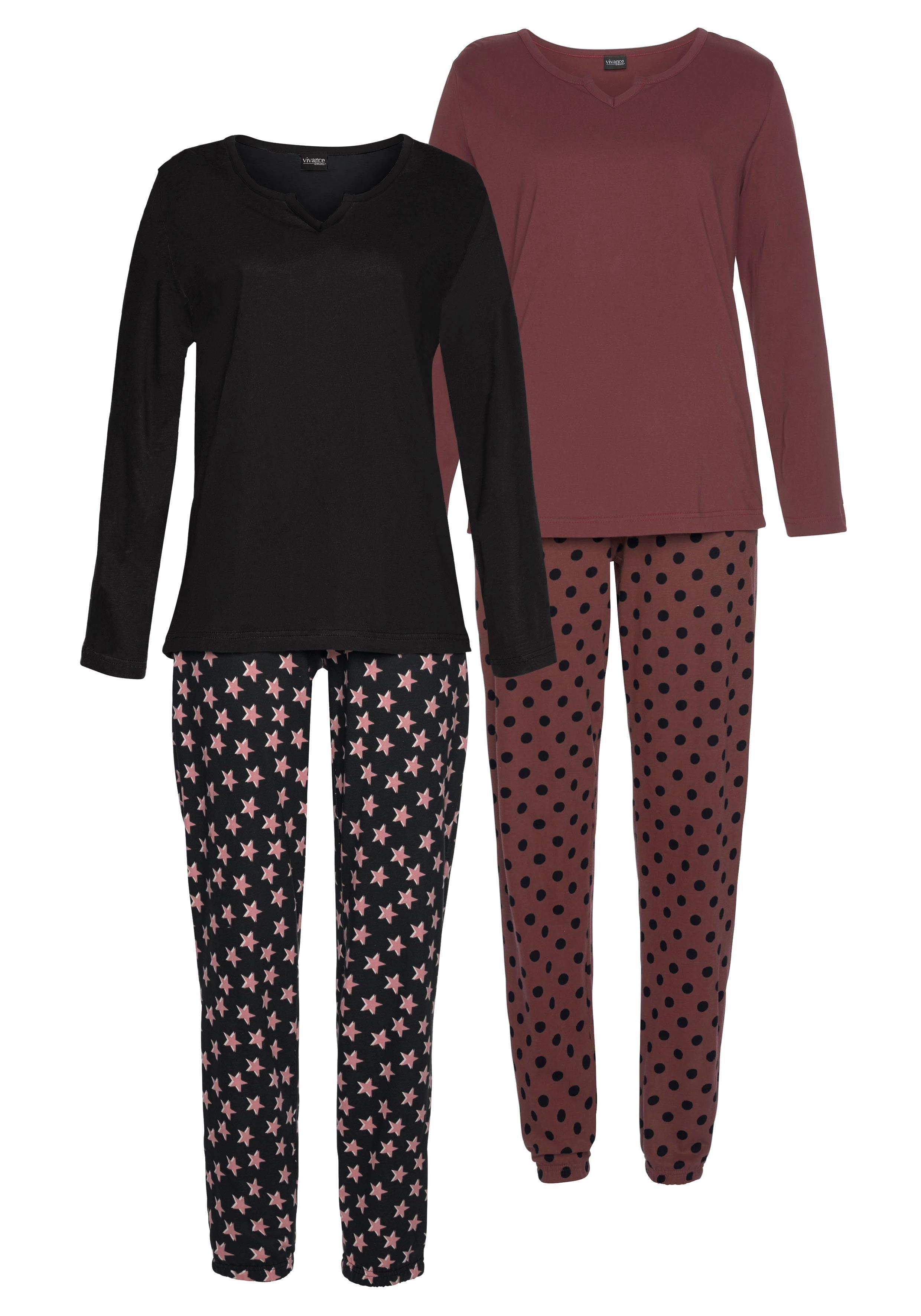 Vivance Collection Vivance Dreams pyjama (set van 2, 4-delig) bestellen: 14 dagen bedenktijd