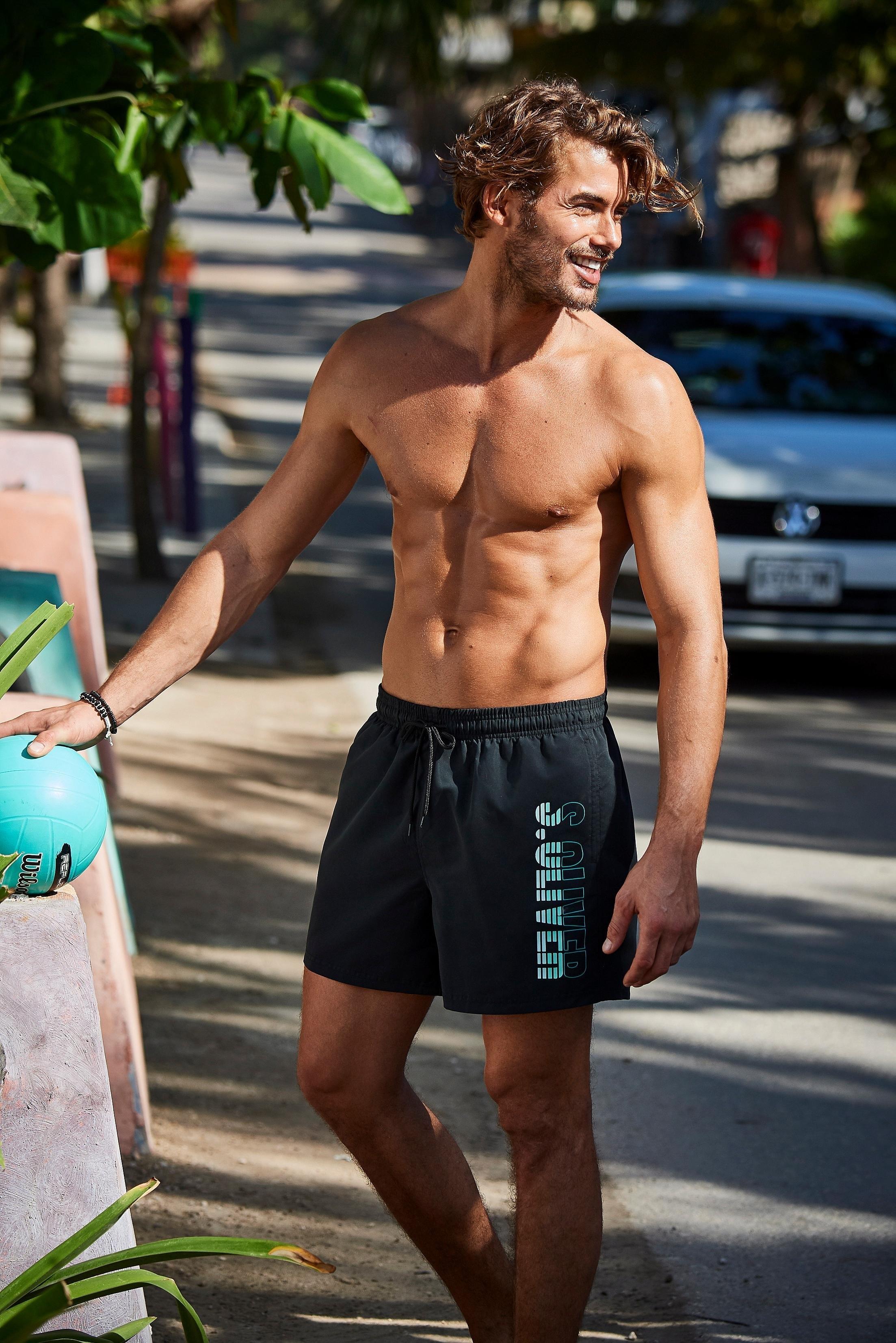 s.Oliver Beachwear s.Oliver RED LABEL Beachwear zwemshort bij Lascana online kopen