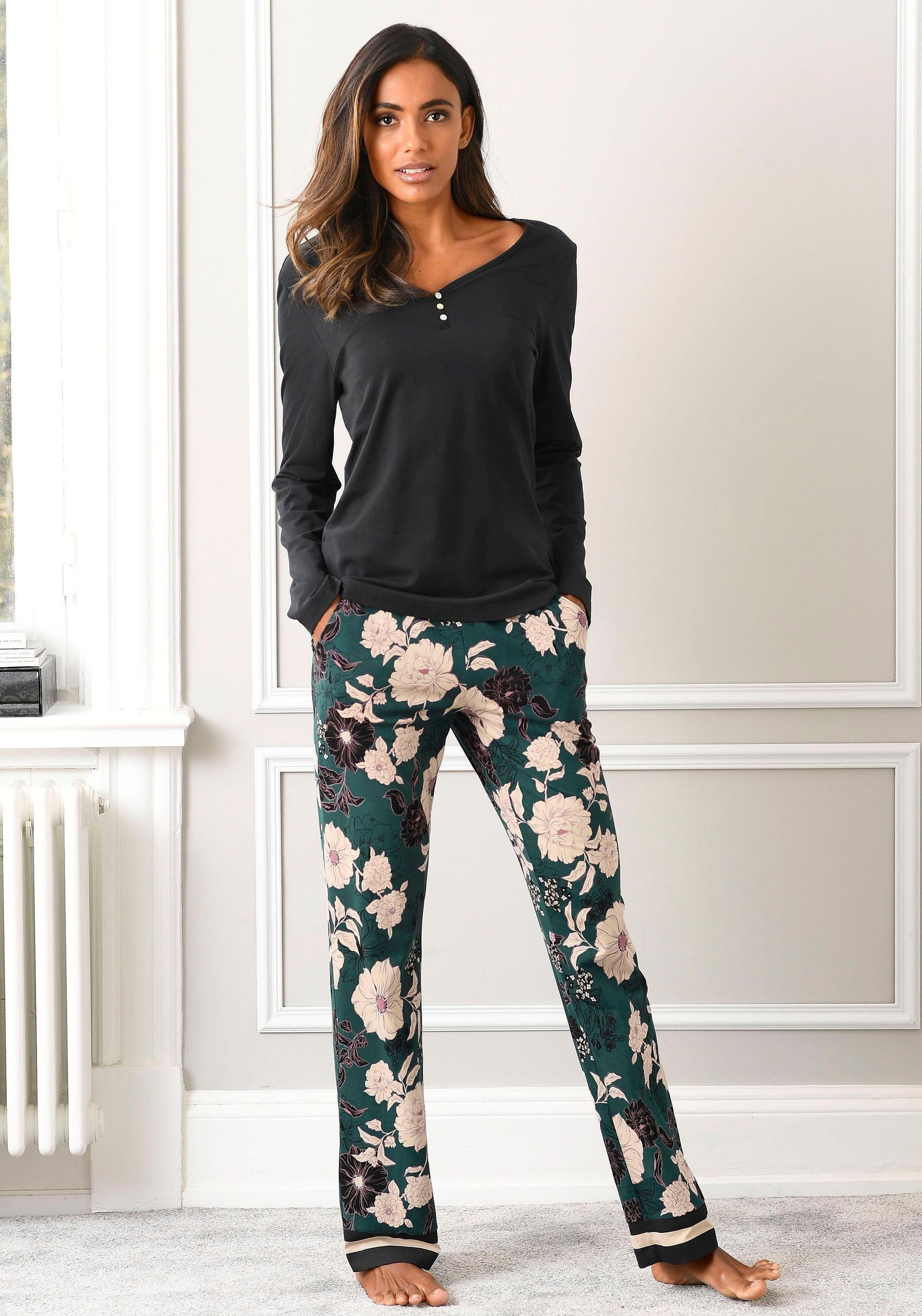 s.Oliver RED LABEL Bodywear s.Oliver Bodywear-pyjama in de webshop van Lascana kopen